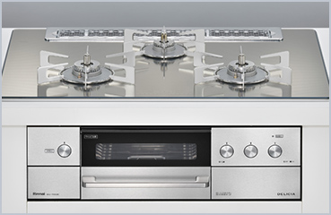 Gas built-in hobs(stovetops)(Japan)