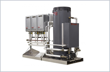 Integrated hot water/heating system for Commerce (Australia)