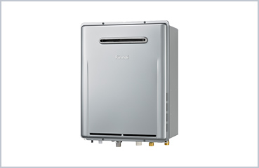 Eco-jozu gas water heaters (Japan)